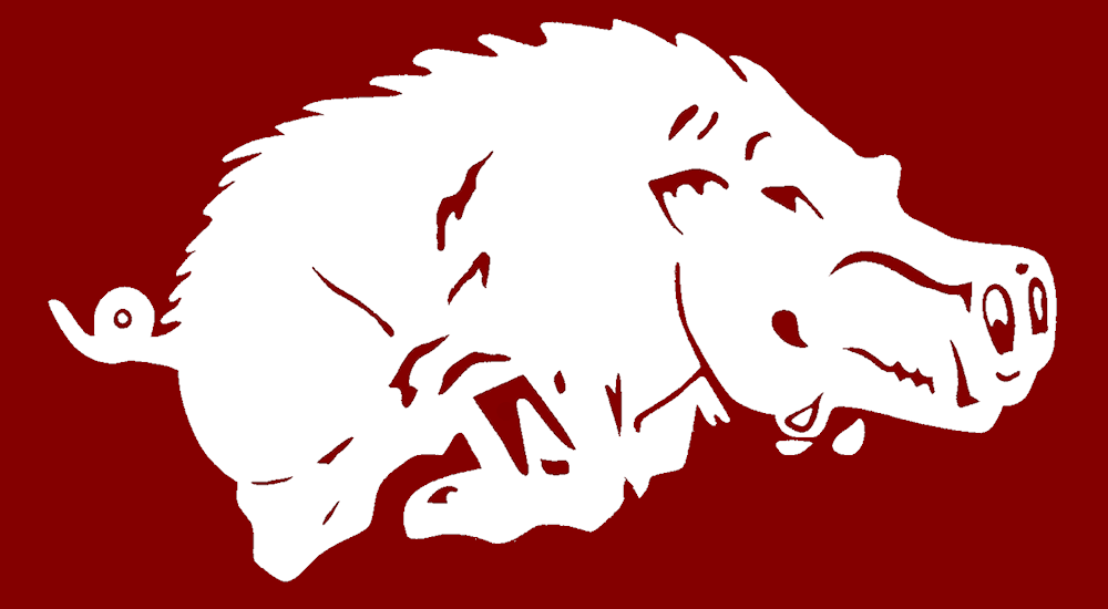 Razorback Logo Outline