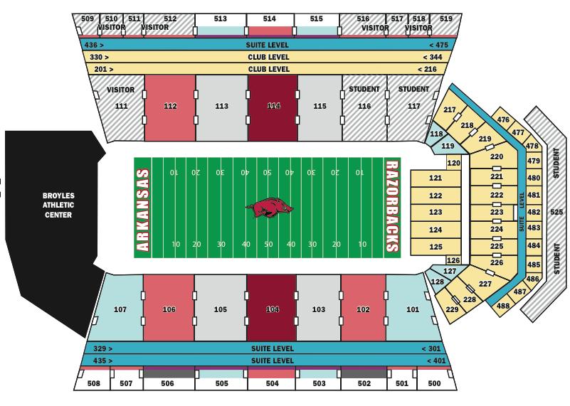 Arkansas-Razorback-Stadium-Seating-Chart