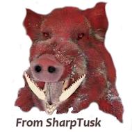 sharptusk