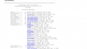 Alabama Crimson Tide -- Game by Game Statistics -- Archive 2006-07_Page_4