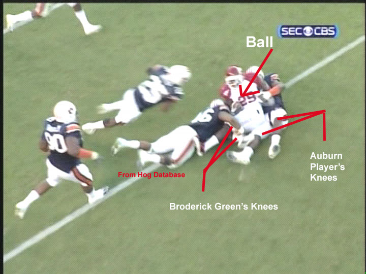 Definitive -- Broderick Green Down