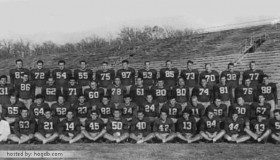 1946 Arkansas Razorback Team Photo