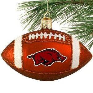 Razorbacks Christmas Ornament