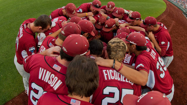 Baseball Huddle