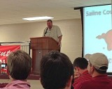 Bielema at Saline County Razorback Club 3-27-2013 I