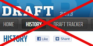No NFL Draft