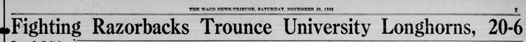 1933-11-25 The_Waco_News_Tribune_Sat__Nov_25__1933 p. 7 Headline Game 15