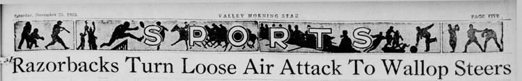 1935-11-23 Valley_Morning_Star_Harlingen- TX_Sat__Nov_23__1935 p. 5 Headline Game 17