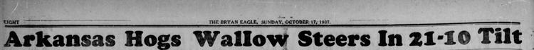 1937-10-17 The_Eagle_Sun__Oct_17__1937 p. 8 Headline Game 19