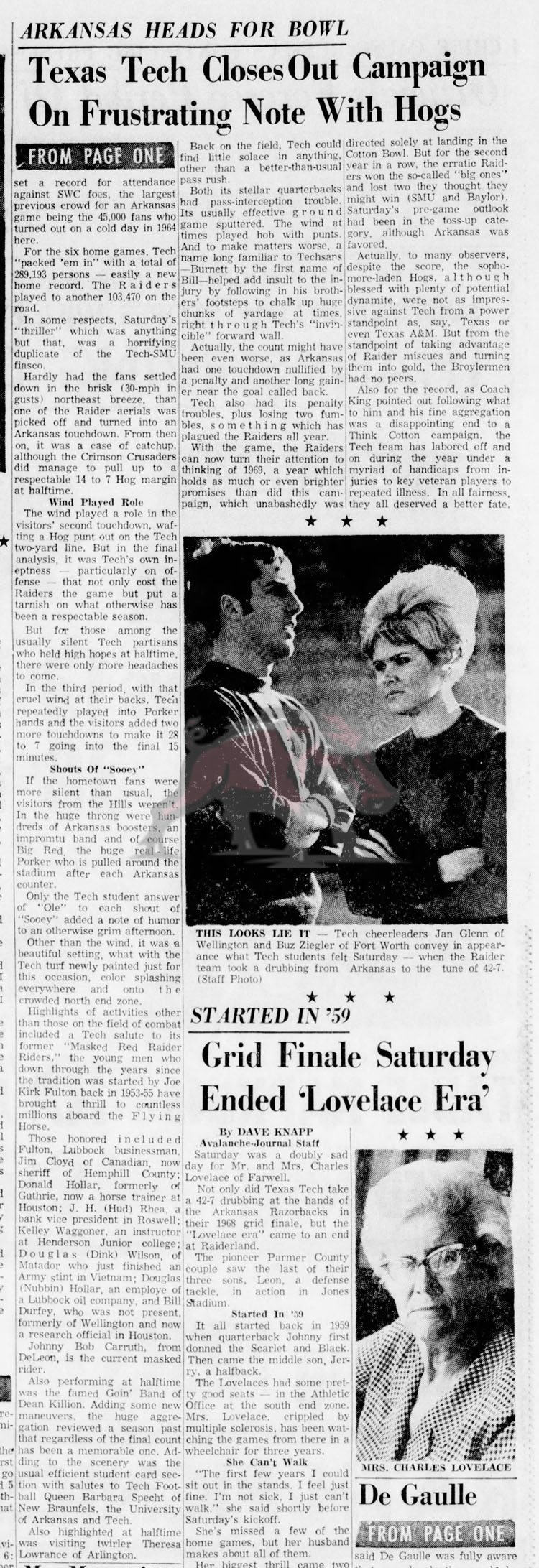 1968-11-24 Lubbock_Avalanche_Journal_Sun__Nov_24__1968 Texas Tech Side Part 2