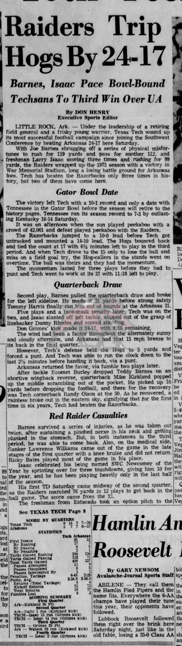 1973-11-25 Lubbock_Avalanche_Journal_Sun__Nov_25__1973_